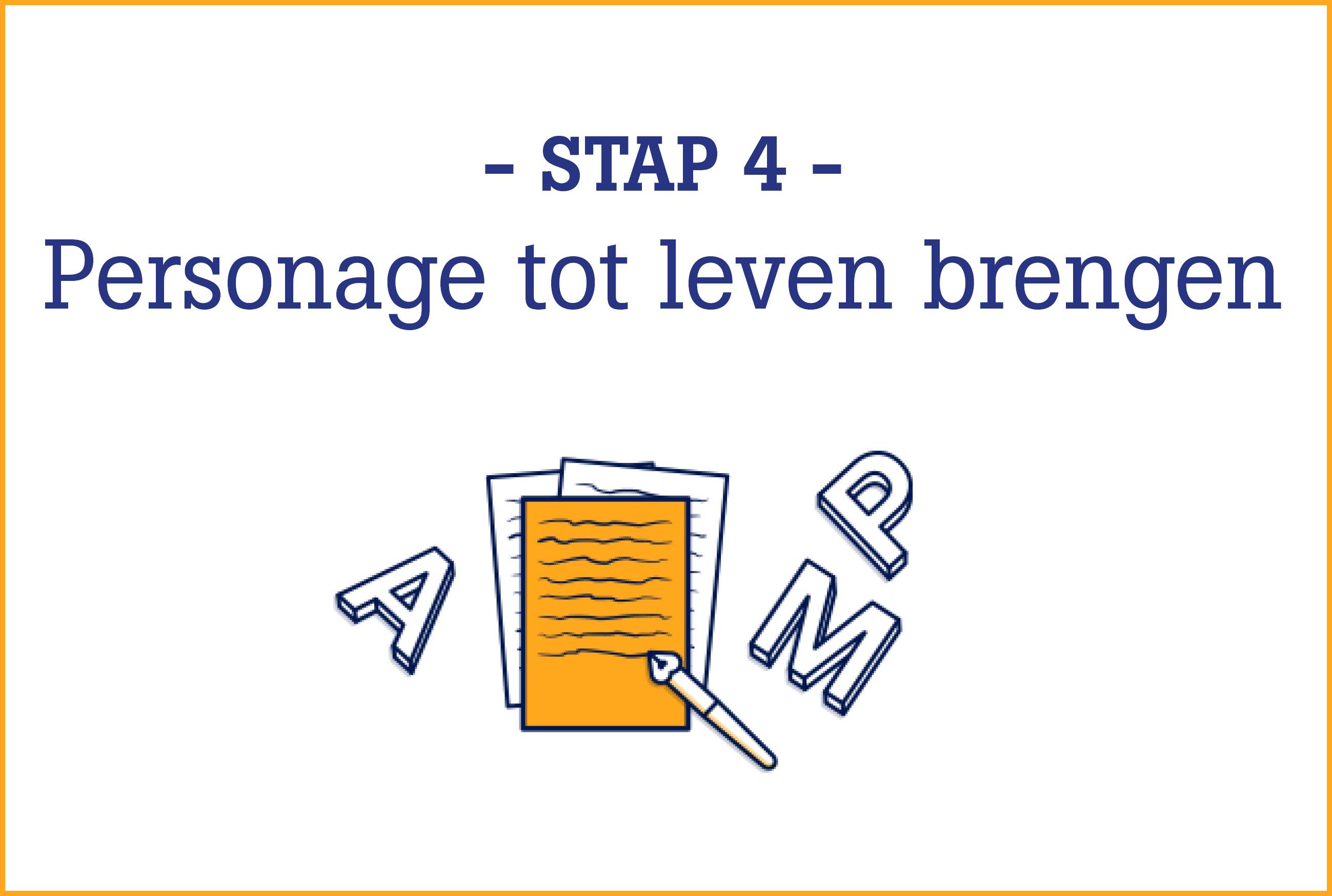 Boekschrijven.nl | Online Schrijfcursus stap 4