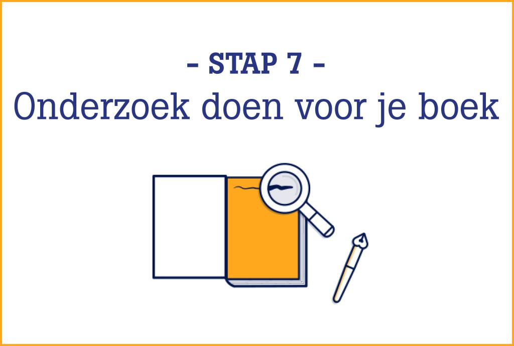 Boekschrijven.nl | Online Schrijfcursus stap 7
