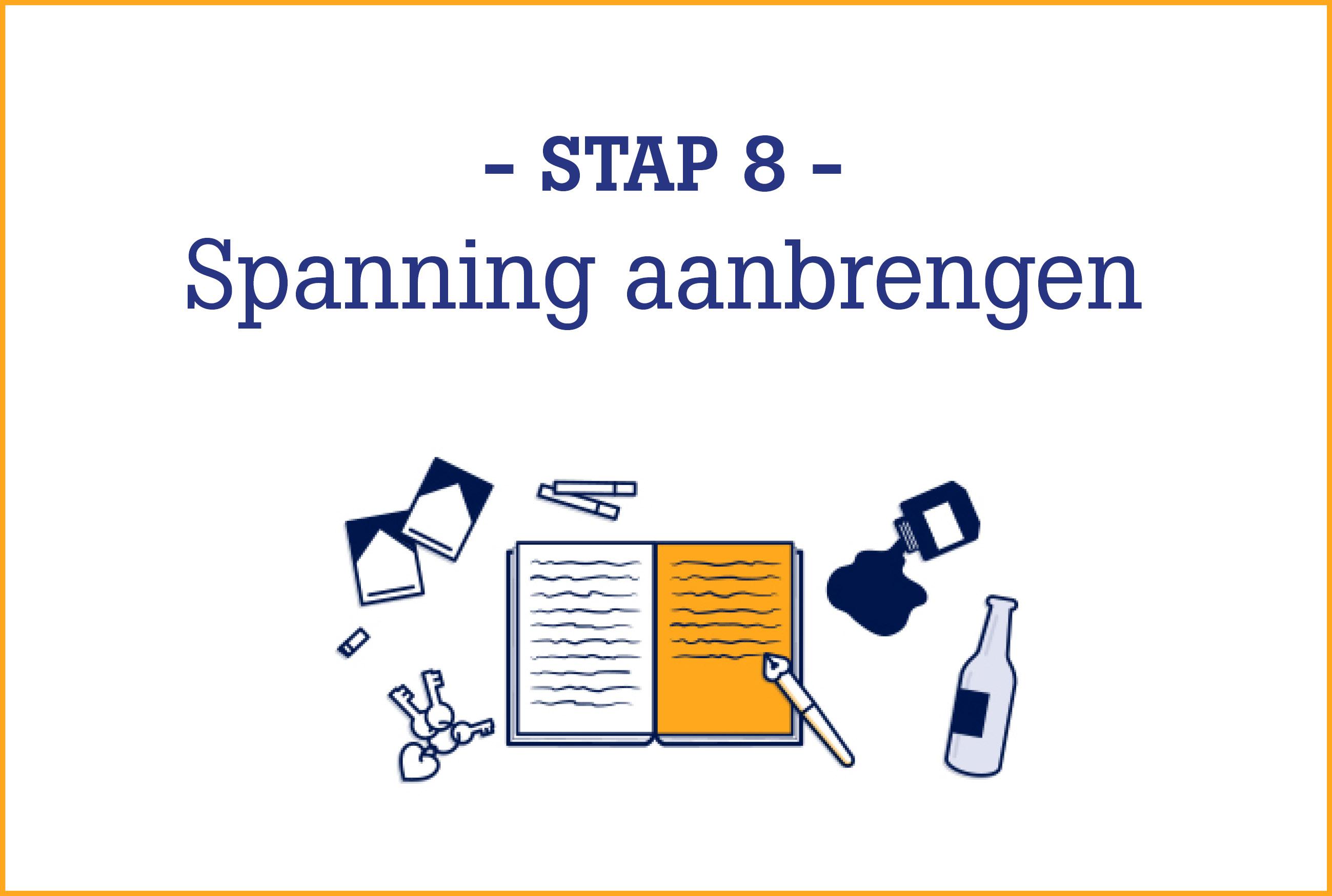 Boekschrijven.nl | Online Schrijfcursus stap 8
