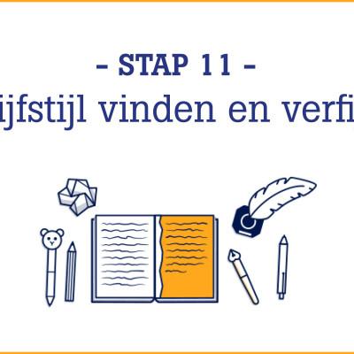 Boekschrijven.nl | Online schrijfcursus stap 11