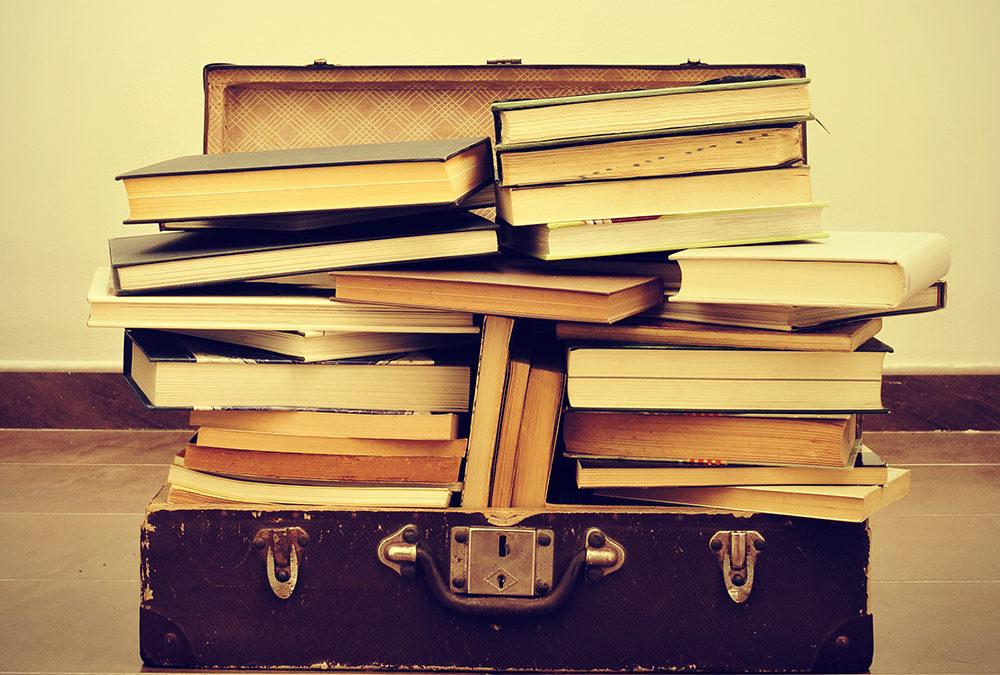 In elke boekenwurm een schrijver