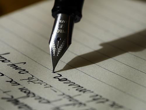 Je vertelt altijd meer dan je opschrijft