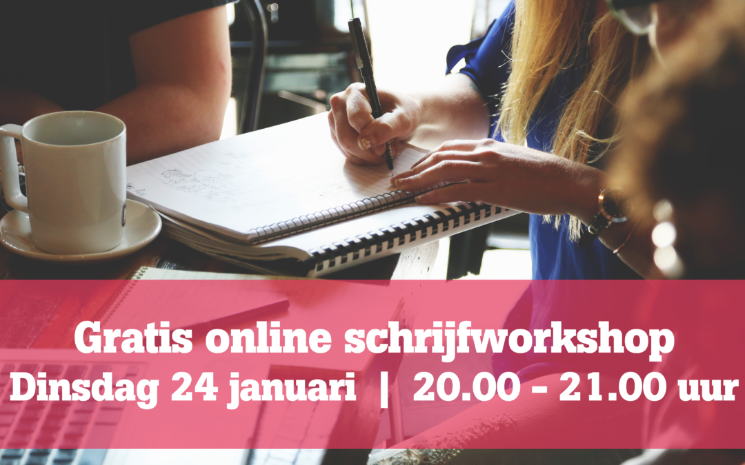Volg de gratis online workshop!