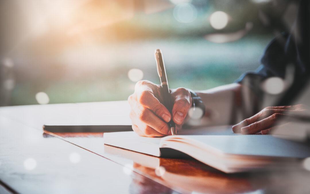 Hoe kom je in de zomer aan schrijfinspiratie?